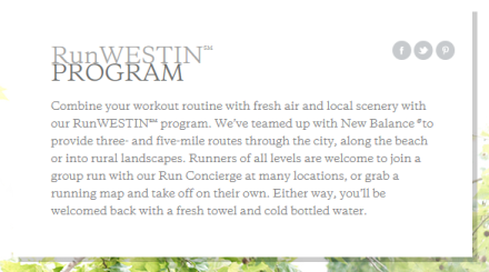 run westin