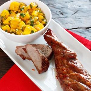 Sweet-and-Fiery-Pork-Tenderloin-with-Mango-Salsa
