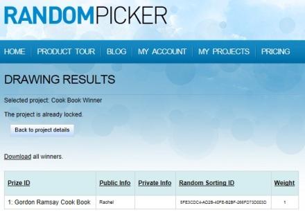 random picker